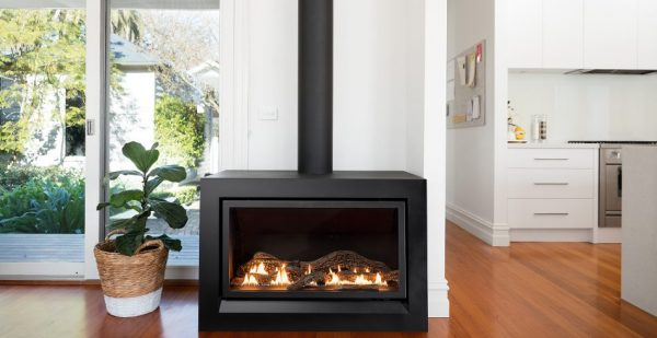 Heatmaster Enviro Gas Log Fire