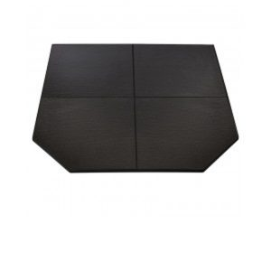 Grey Tile Hearth Floor Protector